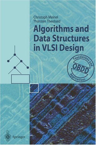 Large book cover: Algorithms and Data Structures in VLSI Design