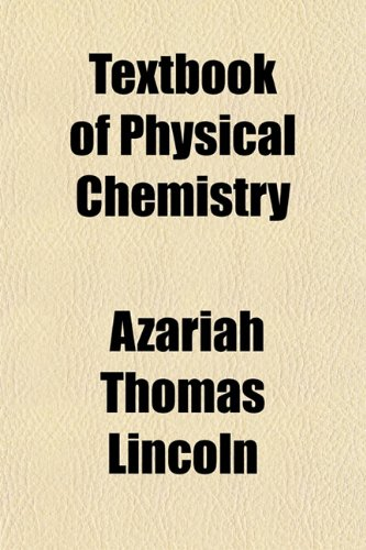 Large book cover: Textbook of Physical Chemistry