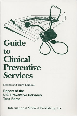 Large book cover: Guide to Clinical Preventive Services