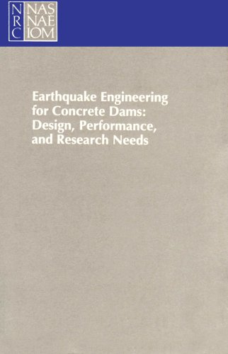 Large book cover: Earthquake Engineering for Concrete Dams
