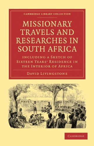 Large book cover: Missionary Travels and Researches in South Africa