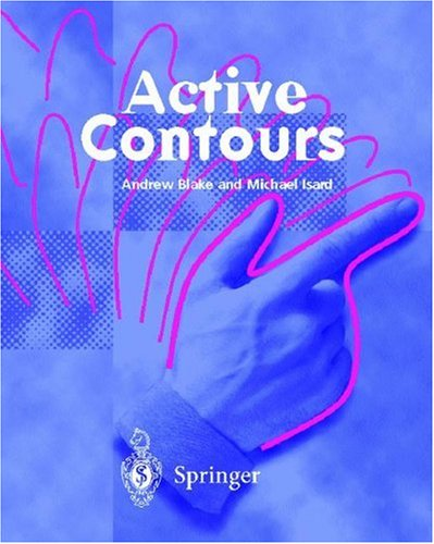 Large book cover: Active Contours