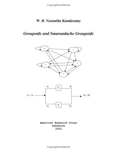 Large book cover: Groupoids and Smarandache Groupoids