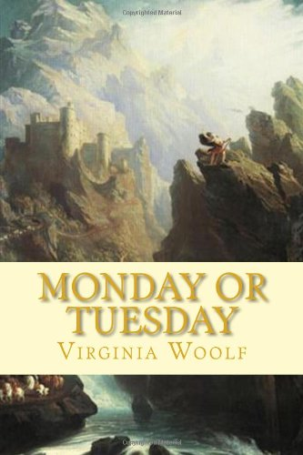 Large book cover: Monday or Tuesday
