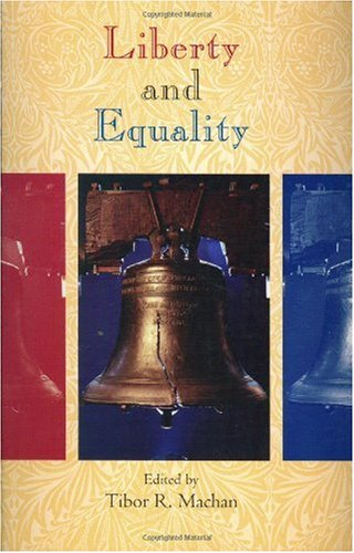 Large book cover: Liberty and Equality
