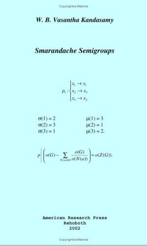 Large book cover: Smarandache Semigroups
