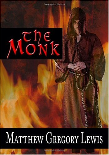 Large book cover: The Monk