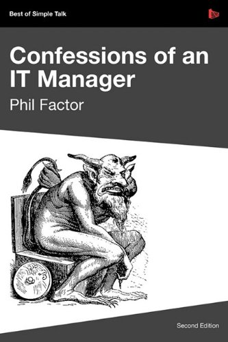 Large book cover: Confessions of an IT Manager