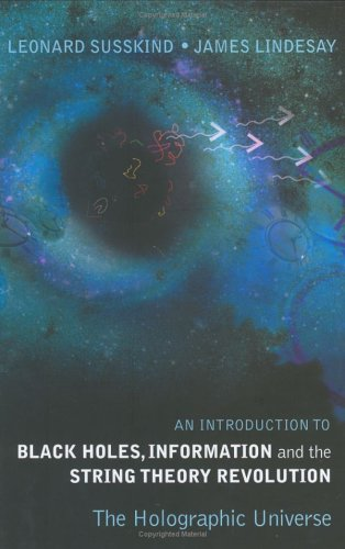 Large book cover: An Introduction to Black Holes, Information and the String Theory Revolution