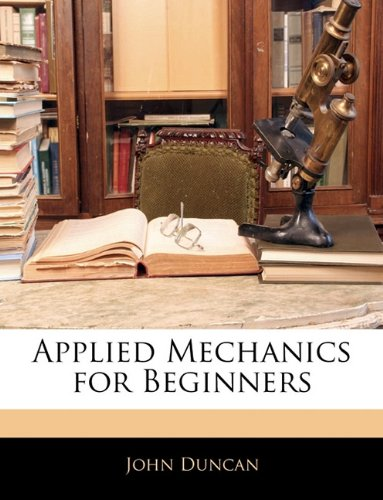 Large book cover: Applied Mechanics for Beginners