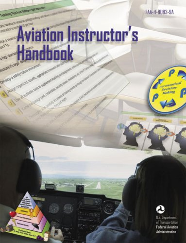 Large book cover: Aviation Instructor's Handbook