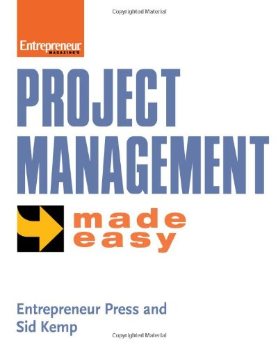 Large book cover: Project Management Made Easy