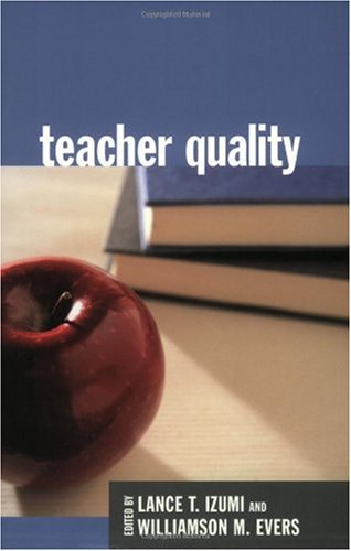 Large book cover: Teacher Quality