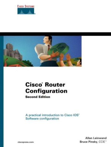 Large book cover: Cisco Router Configuration
