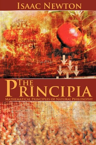 Large book cover: Newton's Principia : the mathematical principles of natural philosophy