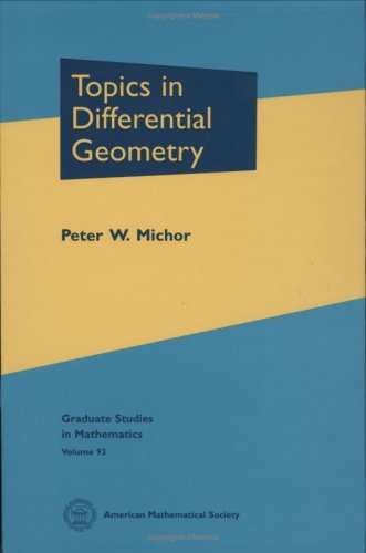 Large book cover: Topics in Differential Geometry