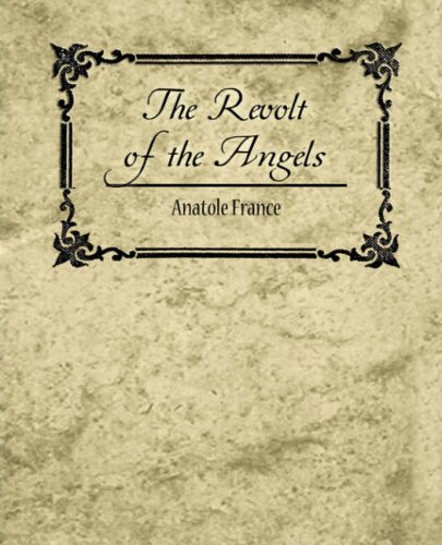 Large book cover: The Revolt of the Angels