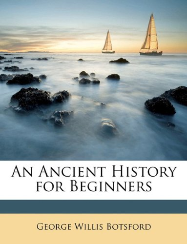 Large book cover: An Ancient History for Beginners