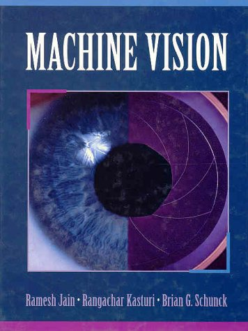 Large book cover: Machine Vision