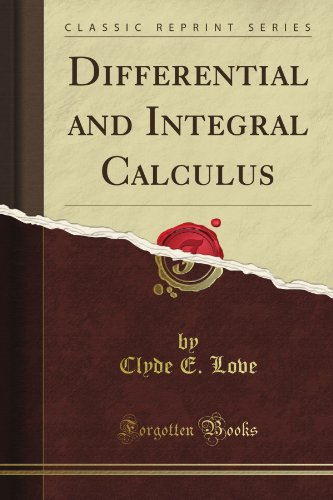 Large book cover: Differential and Integral Calculus