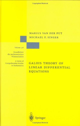 Large book cover: Introduction to the Galois Theory of Linear Differential Equations
