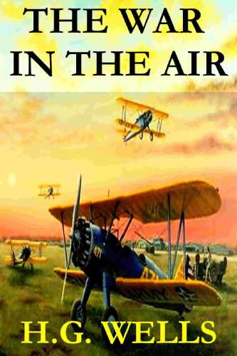 Large book cover: The War in the Air
