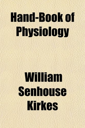 Large book cover: Hand-Book of Physiology