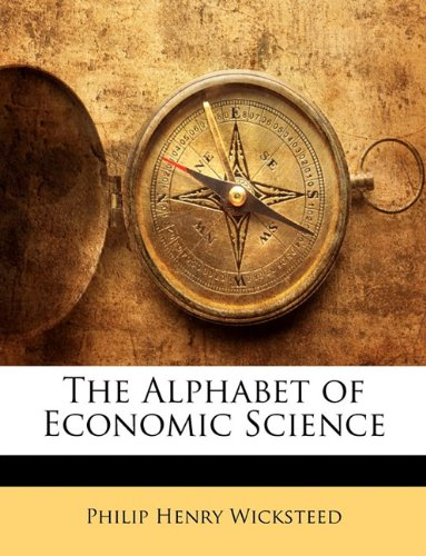 Large book cover: The Alphabet of Economic Science