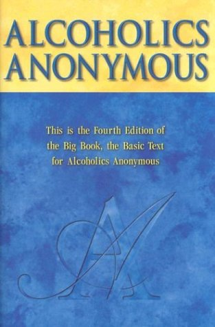 Large book cover: Alcoholics Anonymous