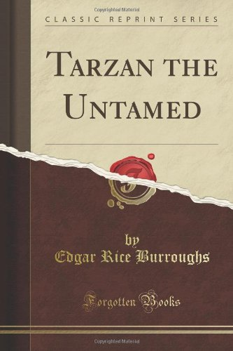 Large book cover: Tarzan the Untamed