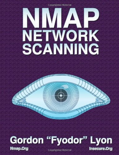 Large book cover: Nmap Network Scanning