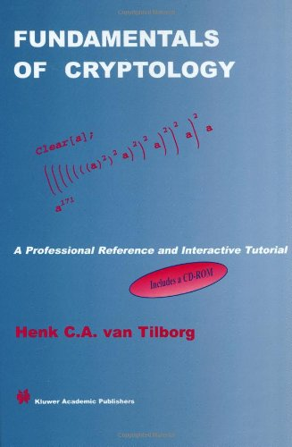 Large book cover: Fundamentals of Cryptology: A Professional Reference and Interactive Tutorial