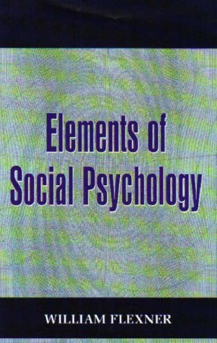 Large book cover: Elements of Social Psychology