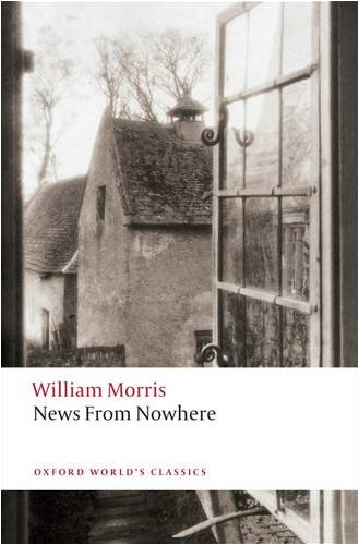 Large book cover: News from Nowhere