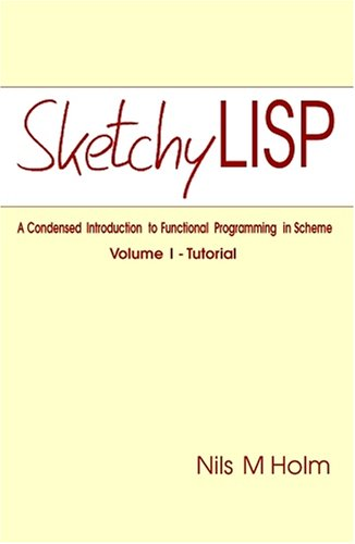 Large book cover: Sketchy LISP