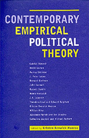 Large book cover: Contemporary Empirical Political Theory