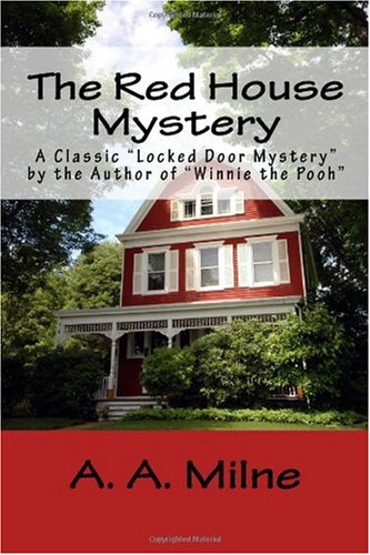 Large book cover: The Red House Mystery