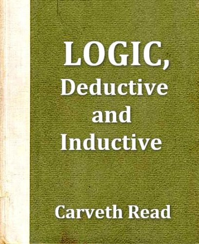 Large book cover: Logic: Deductive and Inductive