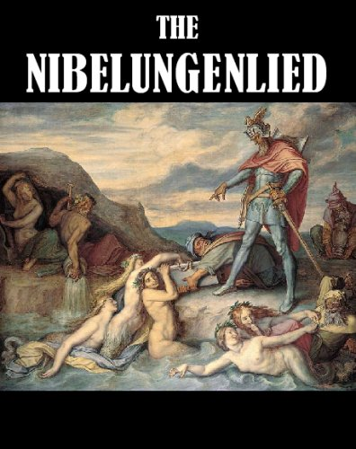 Large book cover: The Nibelungenlied