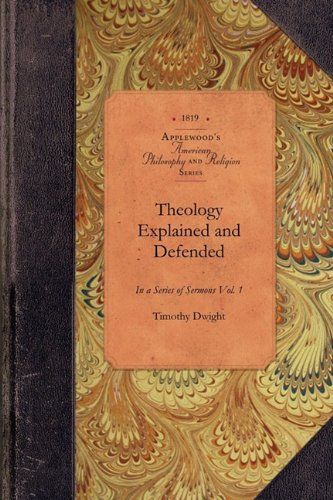 Large book cover: Theology Explained and Defended
