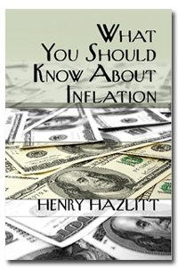 Large book cover: What You Should Know About Inflation