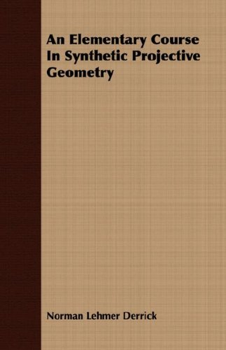 Large book cover: An Elementary Course in Synthetic Projective Geometry