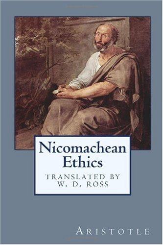 Large book cover: Nicomachean Ethics