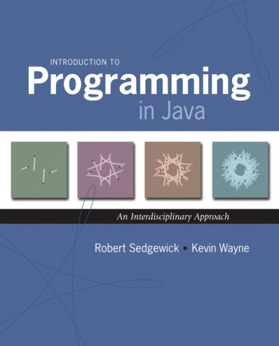 Large book cover: Introduction to Programming in Java: An Interdisciplinary Approach