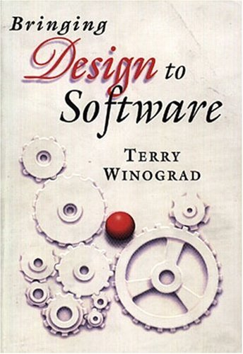 Large book cover: Bringing Design to Software