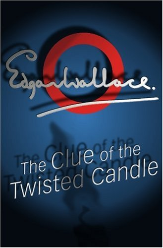 Large book cover: The Clue of the Twisted Candle