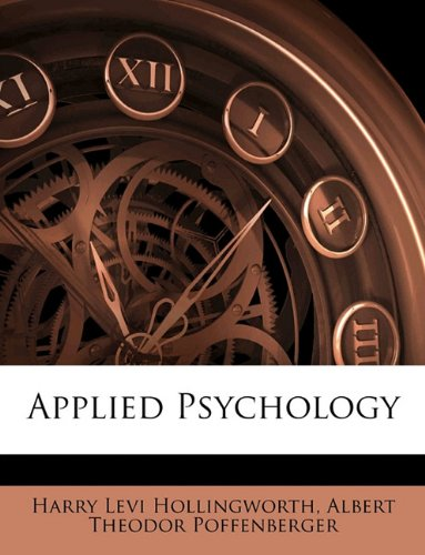 Large book cover: Applied Psychology