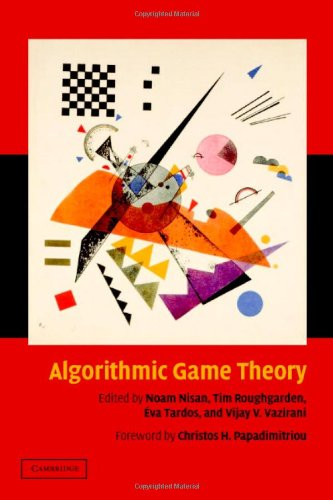 Large book cover: Algorithmic Game Theory