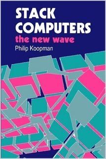 Large book cover: Stack Computers: the new wave