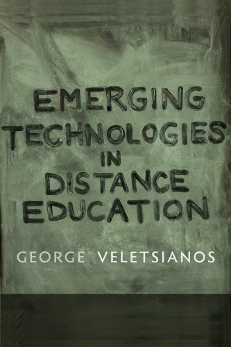Large book cover: Emerging Technologies in Distance Education